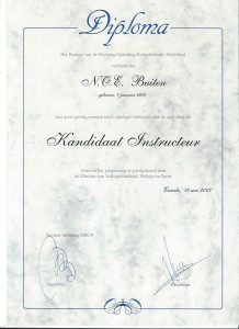 Instructeursdiploma; Niveau 2 - Allround