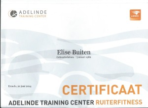 Instructeurslicentie Ruiterfitness